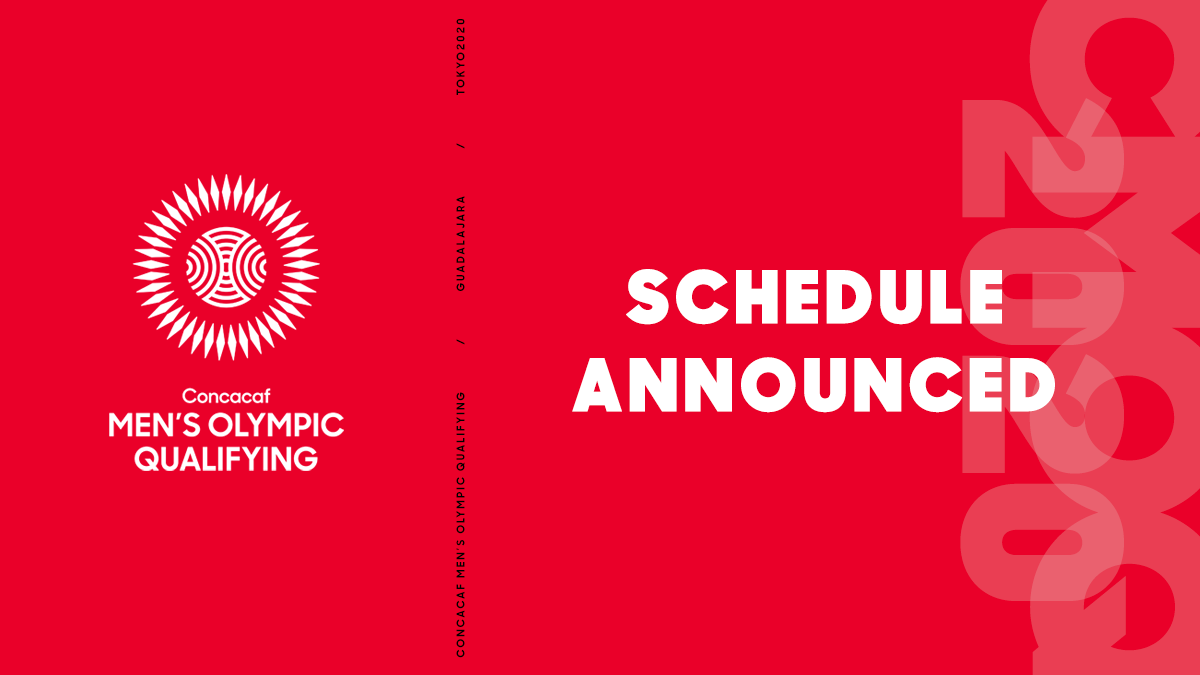 Concacaf confirms schedule for 2020 Concacaf Men's Olympic Qualifying
