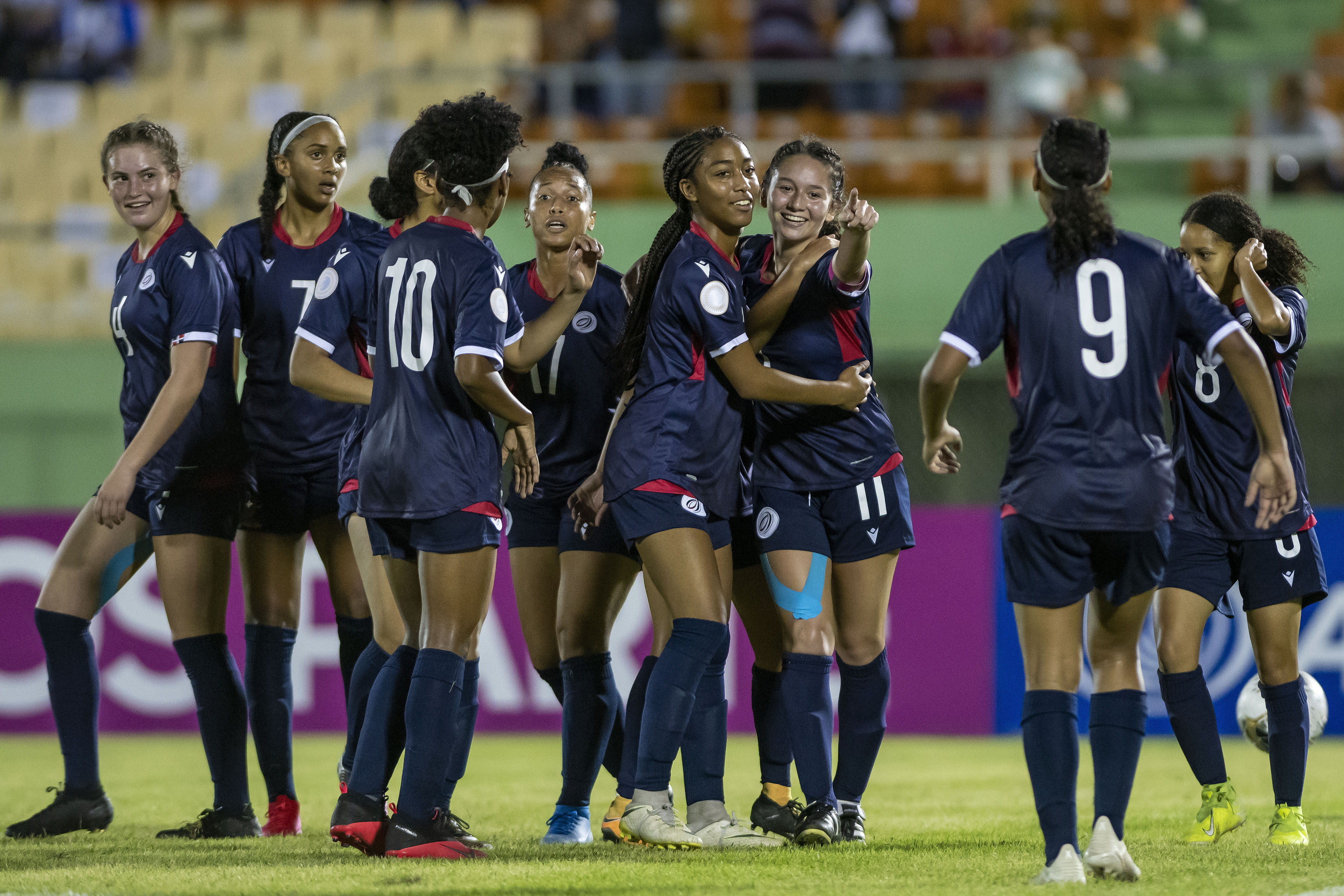 Dominican Republic credit team unity in opening win